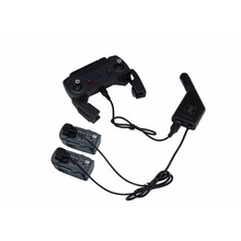 3 in 1 USB Battery Charging Remote Control Car Charger Port For DJI SPARK Drone drop shipping 0809