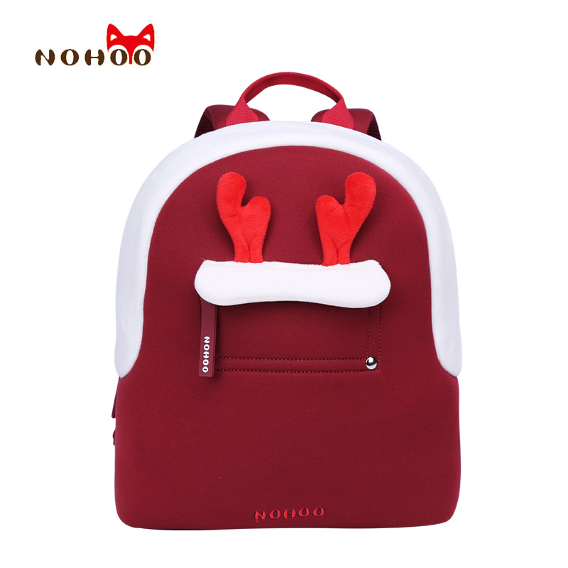 NOHOO Kids Children School Bags Backpacks 3D Cartoon Parent-child Bags Best Gift for Toddler Baby School Bags for 2-4 Years Old