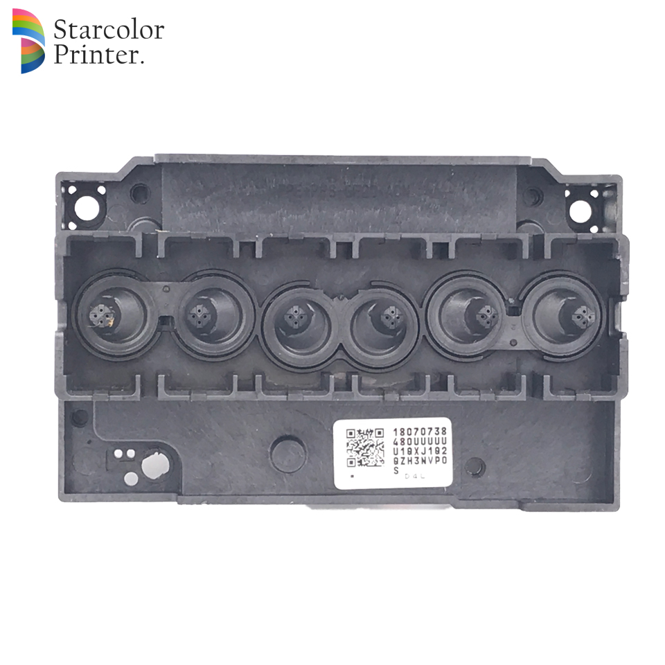 Starcolor F180000 Printhead For Epson Stylus Photo R280 R285 R290 R690 T50 T59 T60 P50 P60 L800 L801 Rx690 Tx650 Printer Printer Parts Office Electronics