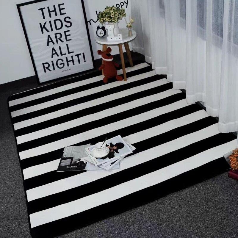 Large Size 150*195CM Fashion Rug and Carpet for Home Living Room Soft Warm Tapeta Anti Slip Carpet Alfombra Kids Rug Bedside Rug