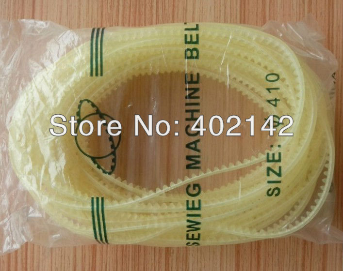 5 410cm Gear belt for FR-900 Continuous band sealer,plastic bag/film sealing machine