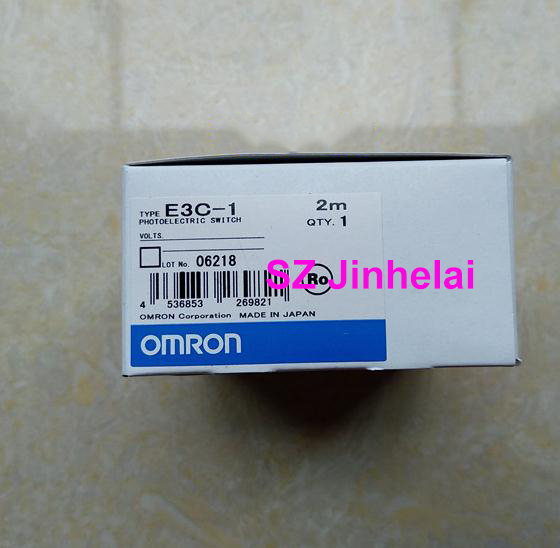 Authentic original E3C-1 OMRON Photoelectric switch sensor 2M authentic original omron limit switch ze q22 2