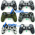 Decals Silicone Camo Camouflage Soft Protection Cover Case Skin for Playstation 4 PS4 Controller