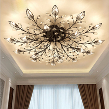 Chandelier Modern Crystal Decoration Chandeliers Ceiling For Living Room loft Dining Room G9 Black Gold Iron lighting Fixture modern crystal chandeliers for dining room gold crystal chandelier pendants crystal light fixtures ceiling chandelier lighting
