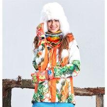 women Skiing Jackets waterproof winter outdoor coat keep warm 2colors tectop winter jacket
