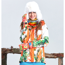 Femmes Ski Vestes d'hiver imperméables en plein air manteau garder au chaud 2 couleurs tectop hiver veste
