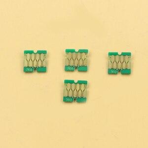 Image 1 - 400 PCS ใหม่ล่าสุด F6200 ชิปสำหรับ Epson SC F9200 F7200 F6270 F9270 F7270 ชิป 100 Cyan, 100 M, 100 Y, 10BK, 90HDK
