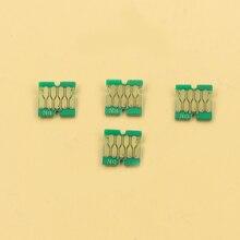 400 stücke neueste F6200 chips für Epson SC F9200 F7200 F6270 F9270 F7270 chips 100 Cyan, 100 M, 100 Y, 10BK, 90HDK