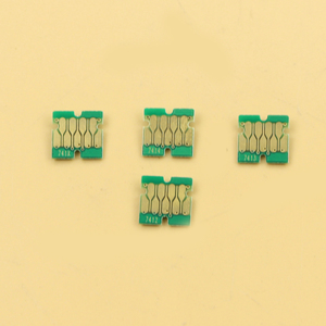 Image 1 - 400pcs  newest F6200 chips for Epson SC F9200 F7200 F6270 F9270 F7270 chips  100 Cyan, 100 M, 100 Y, 10BK, 90HDK