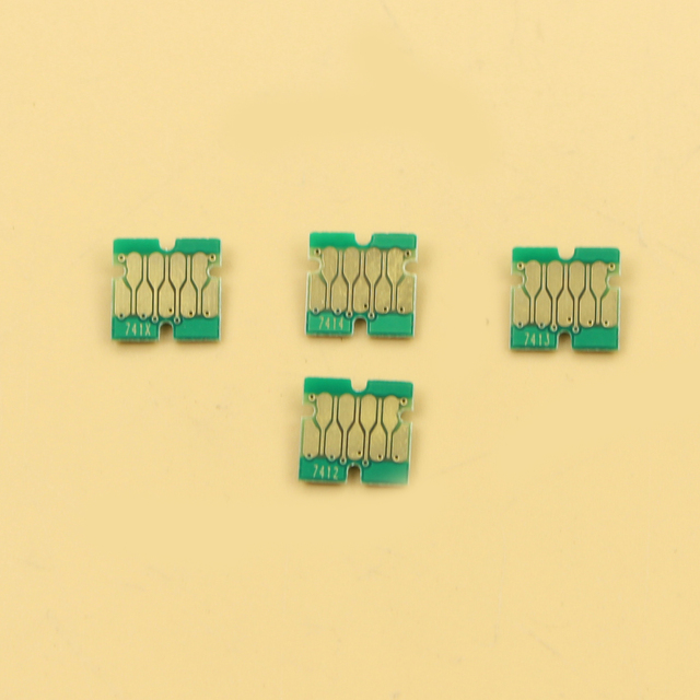 400pcs  newest F6200 chips for Epson SC F9200 F7200 F6270 F9270 F7270 chips  100 Cyan, 100 M, 100 Y, 10BK, 90HDK