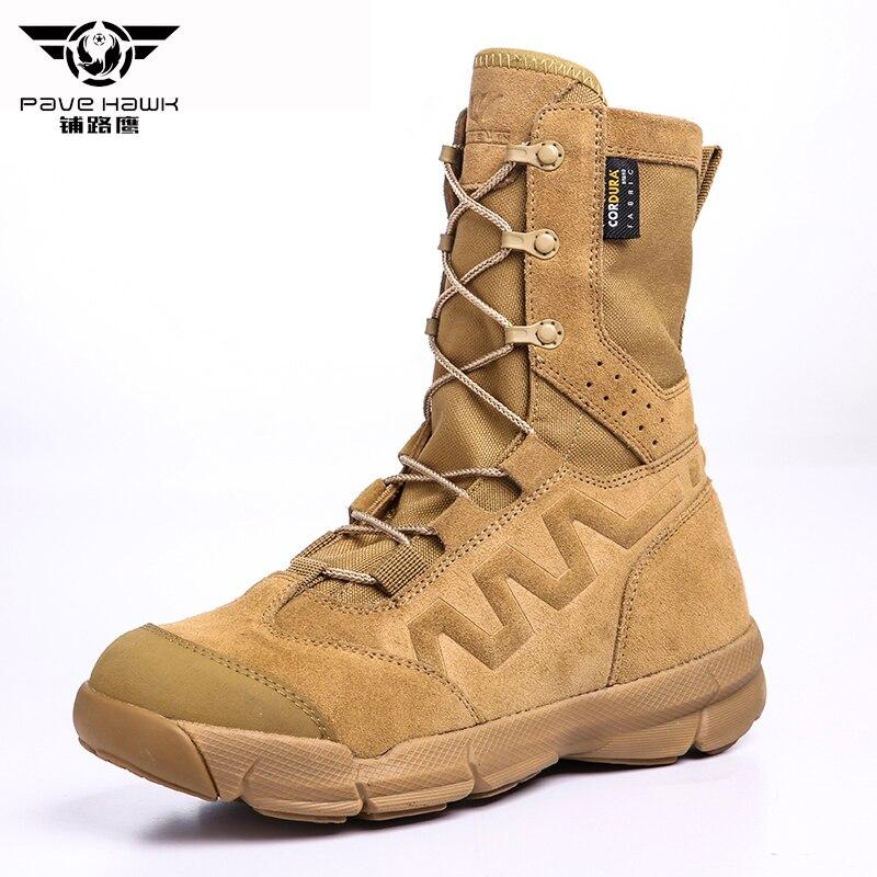 Bois terre désert Bota tactique militaire bottes hommes Combat hommes chaussures travail devoir sécurité chaussure femmes escalade mâle armée Botas femme