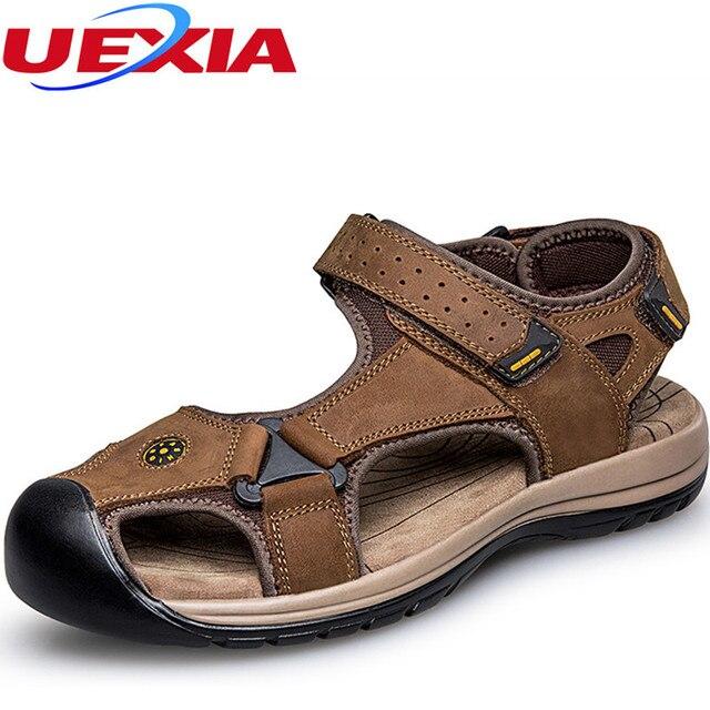 Plus Size Chaussures pour hommes d'été sandales de plage Respirant i1DSLTSz