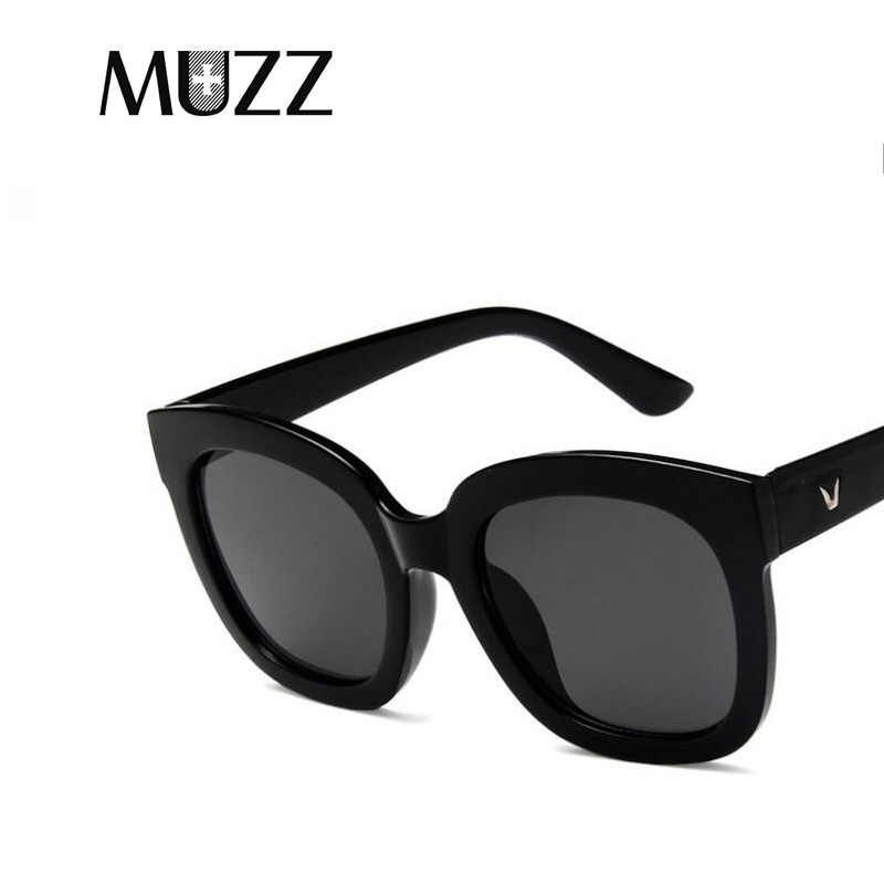 ... 2018 Fashion Square Korean Sunglasses Women Retro Brand Designer Sun  Glasses for Female New Summer Oversized ... c890be5e45