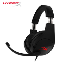 Latest KINGSTON HyperX Cloud Stinger Headband Lightweight Comfort Double Sound Game Headset Adjustable Volume With A
