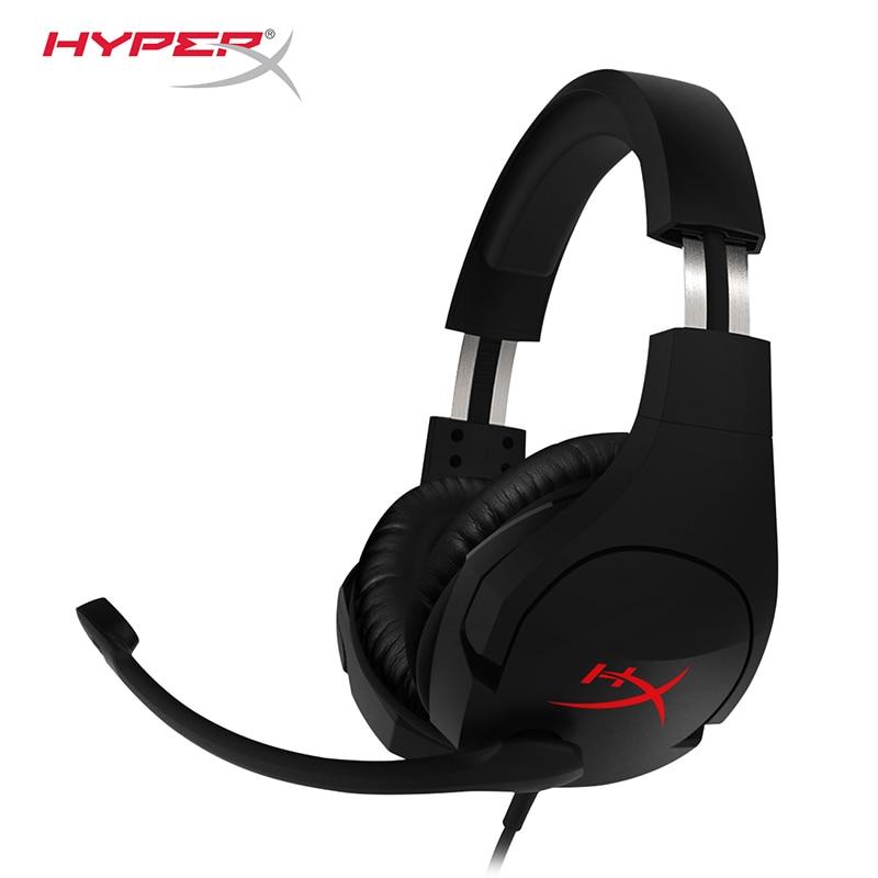 Neueste KINGSTON HyperX Wolke Stinger Stirnband Leichte komfort doppel sound spiel headset einstellbare volumen Mit einem mikrofon