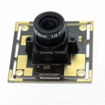5MP 2592*1944 CMOS OV5640 camera module 30fps at 720P, nini USB 2.0  camera module  for machinary equipments