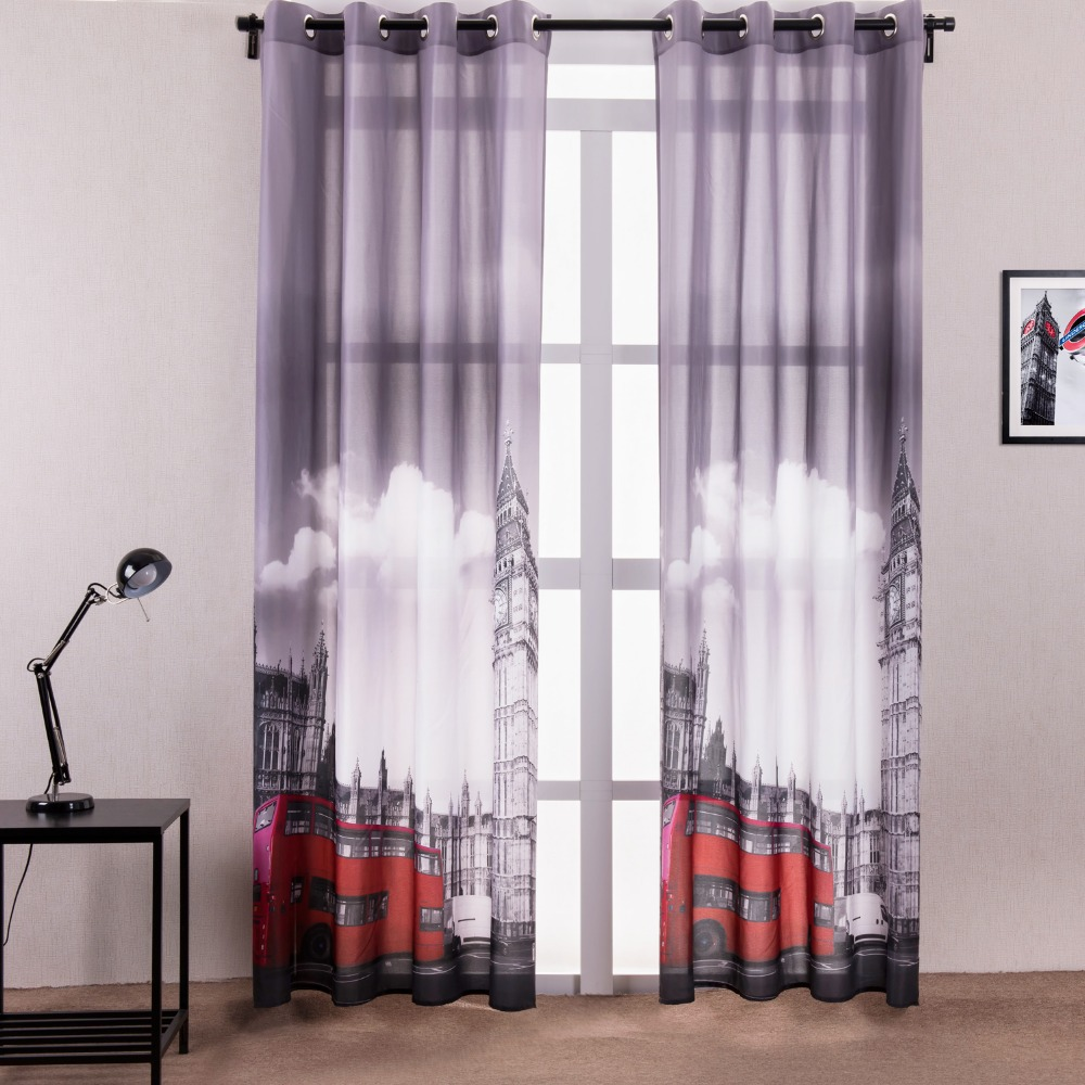 Buy new arrival classical architecture city style popular curtains kitchen door - Curtain for kitchen door ...
