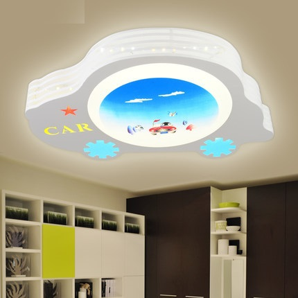 childrens bedroom lighting. 2015 Novelty Led Ceiling Lights For Children Kids Bedroom Cartoon  Car Metal IQ Lighting Childrens