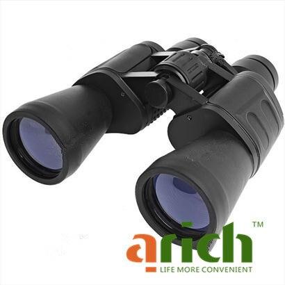 20 x 50mm 58M/1000M 168FT/1000YDS Universal Telescope Binocular with Bag for Outdoor Activities - Black