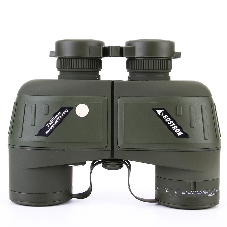 Binoculares militares de alto nivel profesional 7X50 llenos de nitrógeno Marino flotante Bak4 Prisma Telescopio binocular para exteriores