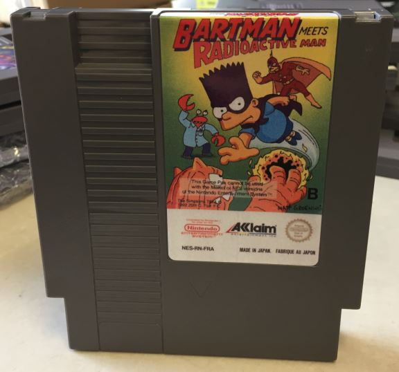 Simpsons, The – Bartman Meets Radioactive Man Game card 72pin 8 bit Game cartridge Drop shipping!