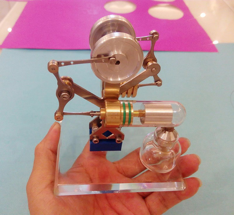 DIY Miniature balance Stirling engine steam engine engine birthday gift science experiment creative