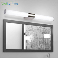 LED Stainless Steel Make Up Mirror Light Bathroom European Style Wall Lamp 46 54 80cm 10