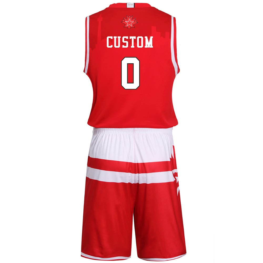 54d70e14d623 Adsmoney Custom basketball 2016 All Star Western Red Eastern Blue Set  Custom Uniforms Men s Summer Sleeveless Sport Wear-in Basketball Jerseys  from Sports ...
