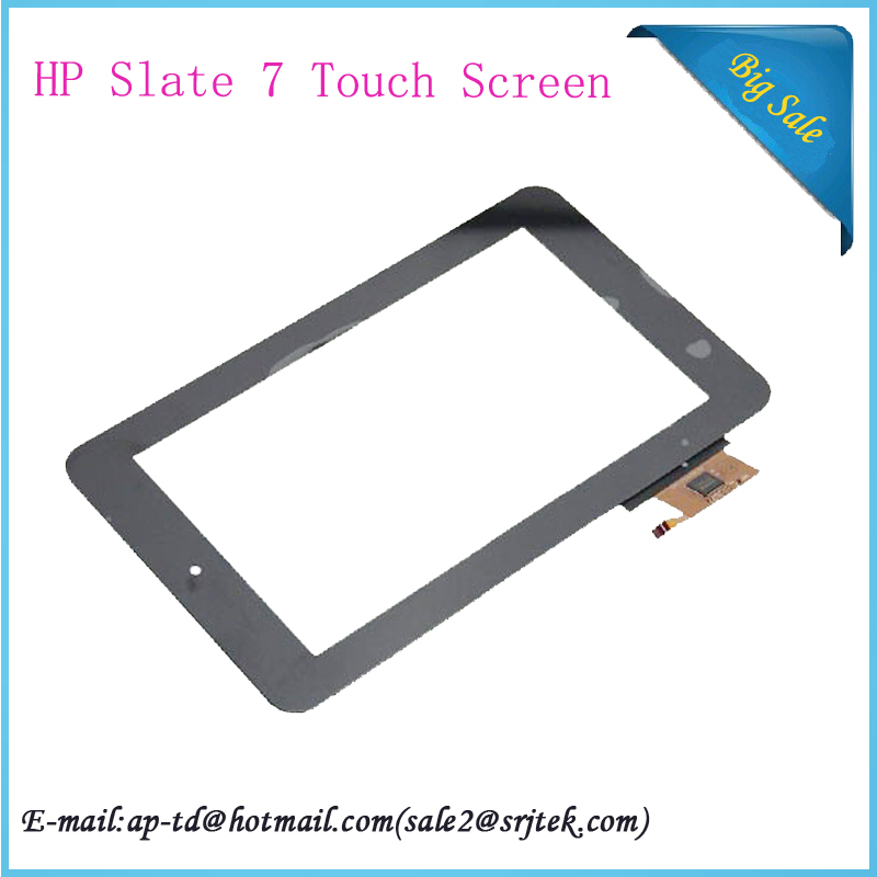 Black 7 Inch For HP Slate 7 Touch Screen Digitizer Glass FPC-TP20843A-V5 Panel Sensor Replacement + Tracking Number от Aliexpress INT