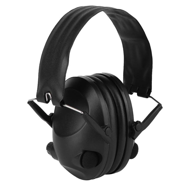 Professional Wireless Pickup Noise Reduciton Headphone Tactical Headset Single Track Earphone with Microphone Outdoor Hunting