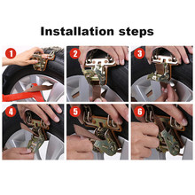 Snow Tire Chain Anti-skid Accessory Replacement Car Truck SUV Wearable(China)