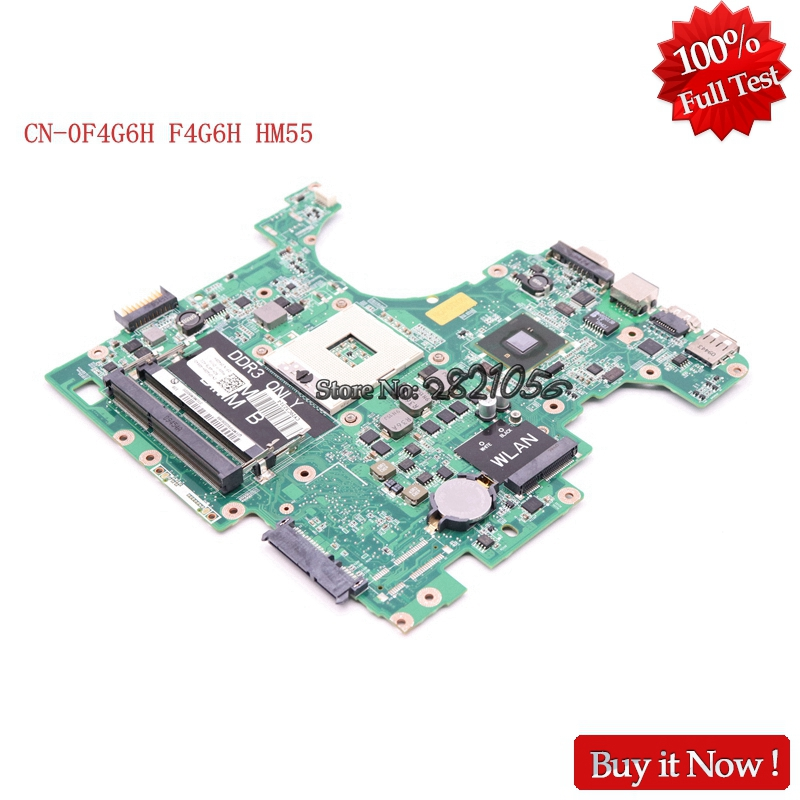 NOKOTION CN-0F4G6H F4G6H Laptop mainboard For Dell 1564 DAUM3BMB6E0 HM55 100% TestedNOKOTION CN-0F4G6H F4G6H Laptop mainboard For Dell 1564 DAUM3BMB6E0 HM55 100% Tested