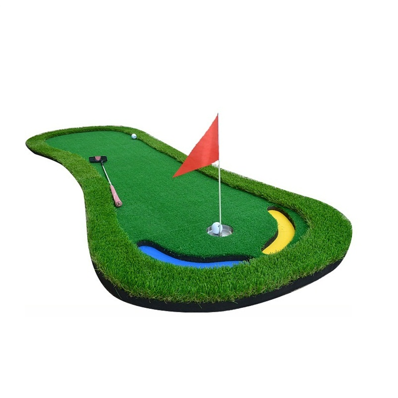 Par 3 Holes Practice Golf Training Green Chip Shot