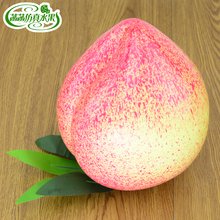 Extra large peaches artificial fruit model fake nectarine big peach toy props