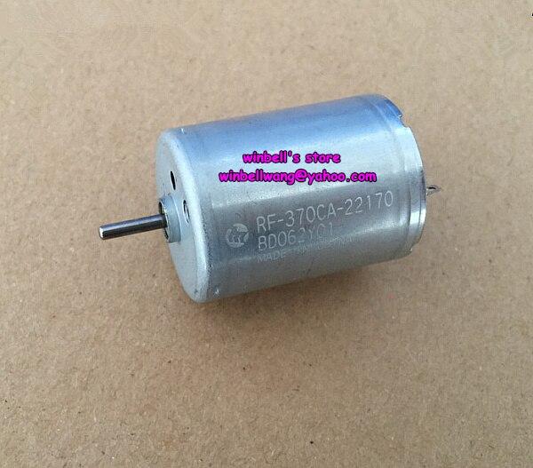 Brand new and original Mabuchi 370 motor RF-370CA-22170 3V-6V micro