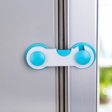 2 Pieces/lot Creative Design Kawaii Anti Pinch Hand Cabinet Fridge Drawer Kid Safety protection Lock S001