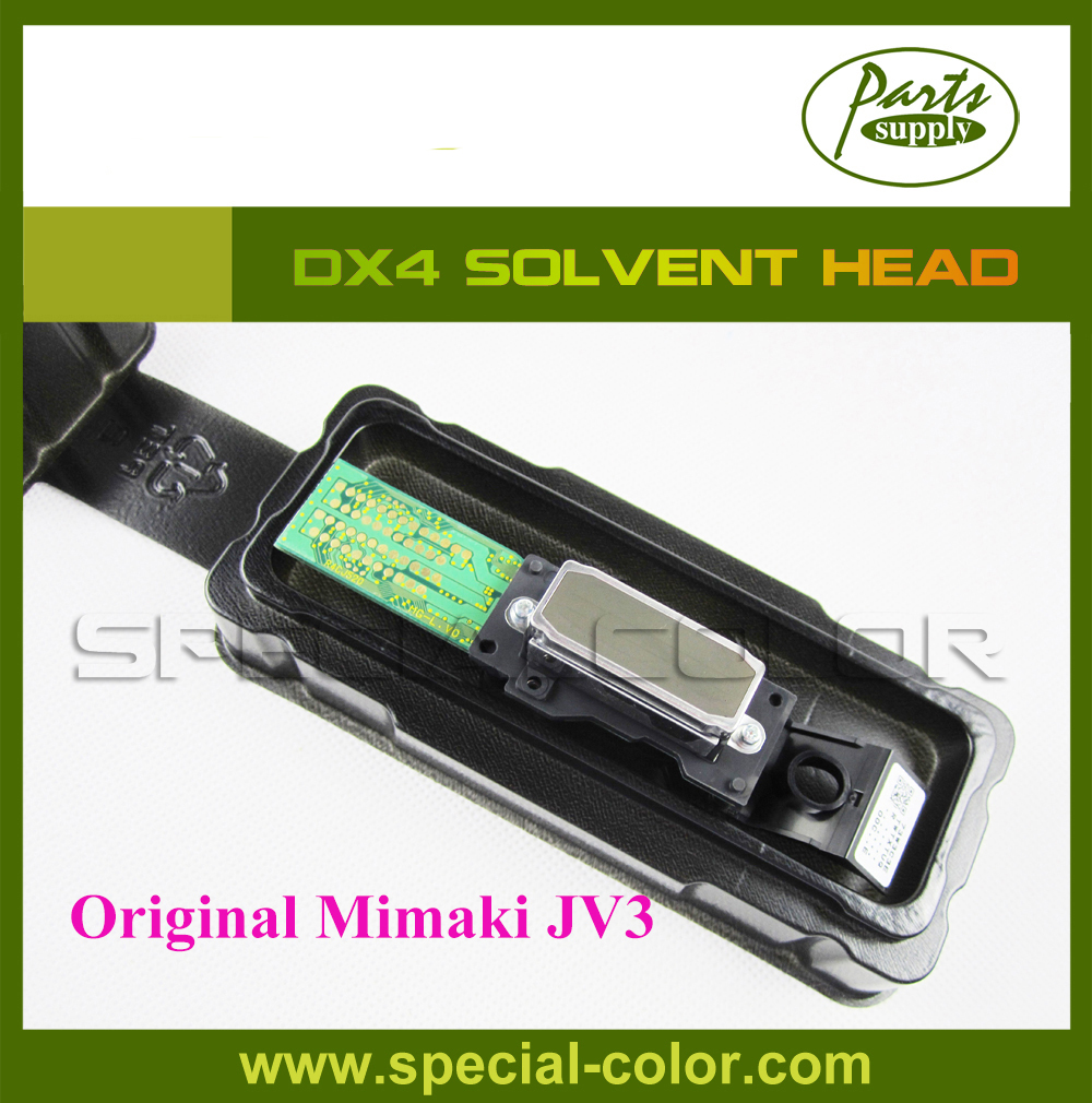 for Epson DX4 Solvent Printhead For Mimaki JV3 Print Head (Get 2pcs DX4 small damper free) eco solvent printhead adpater for dx4 print head for mimaki jv2 jv4 jv3 for roland for muoth on high quality