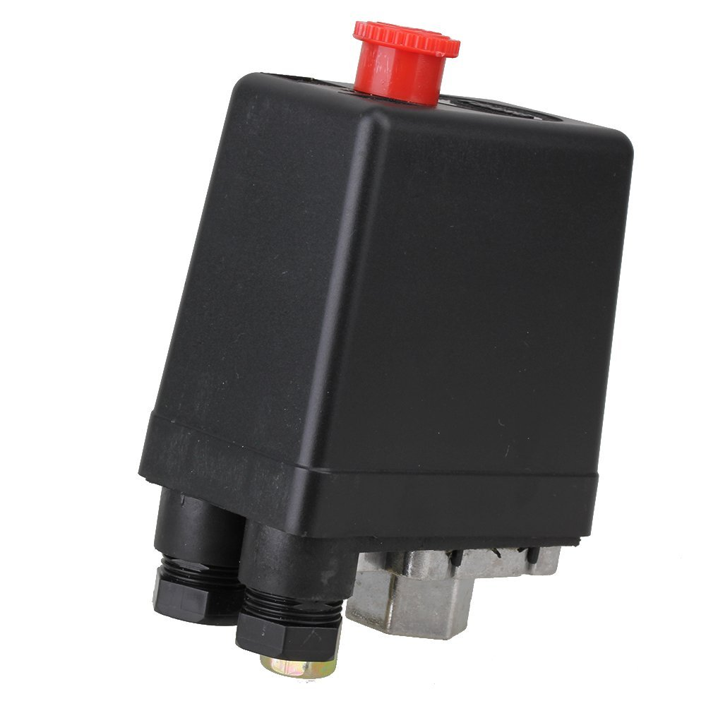 Vertical Type Replacement Part 1 Port SPDT Air Compressor Pump Pressure On / Off Knob Switch Control Valve 80-115 PSI AC220-240V spa hot tub bath pump blower air switch for china lx pump air switch