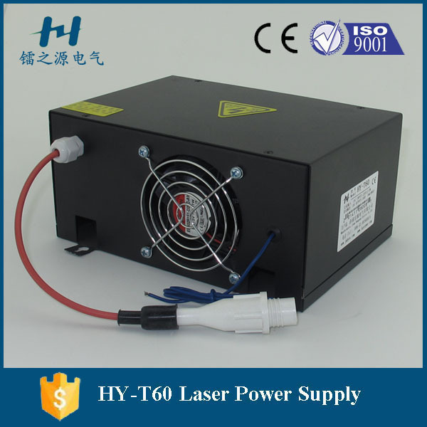 Hair Extensions & Wigs Factory Wholesales Laser Cutting Machine T60co2 Laser Power Supply 60w