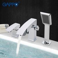 GAPPO1set Bathroom Shower Fixture Bathtub Faucet Tap Waterfall Bathtub Sink Faucet Mixer Restroom Sink Tap Shower
