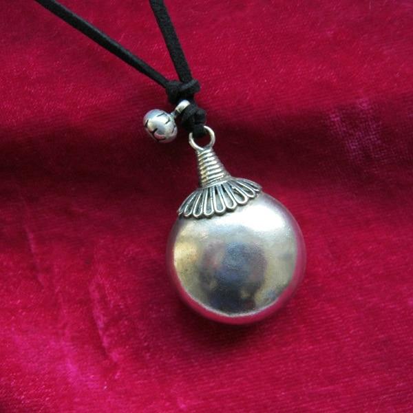 Miao Xiang Dongzhai Miao's handmade ornaments Miao silver necklace pendants