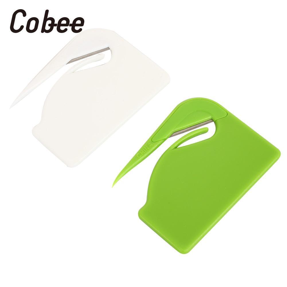 Envelope Cutter Letter Opener Open Letter Cutter 2pcs/Set Office Supplies Safe Paper Economic Blade