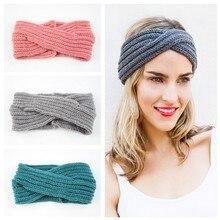 Chunky Knit Headbands Braided Winter Ear Warmers Crochet Head Wraps for Women Girls