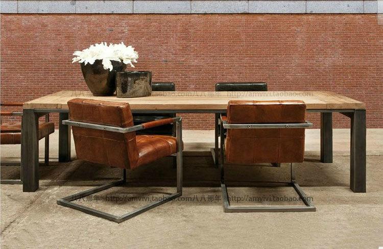Aliexpress  Buy Industrial metal wood coffee table classic