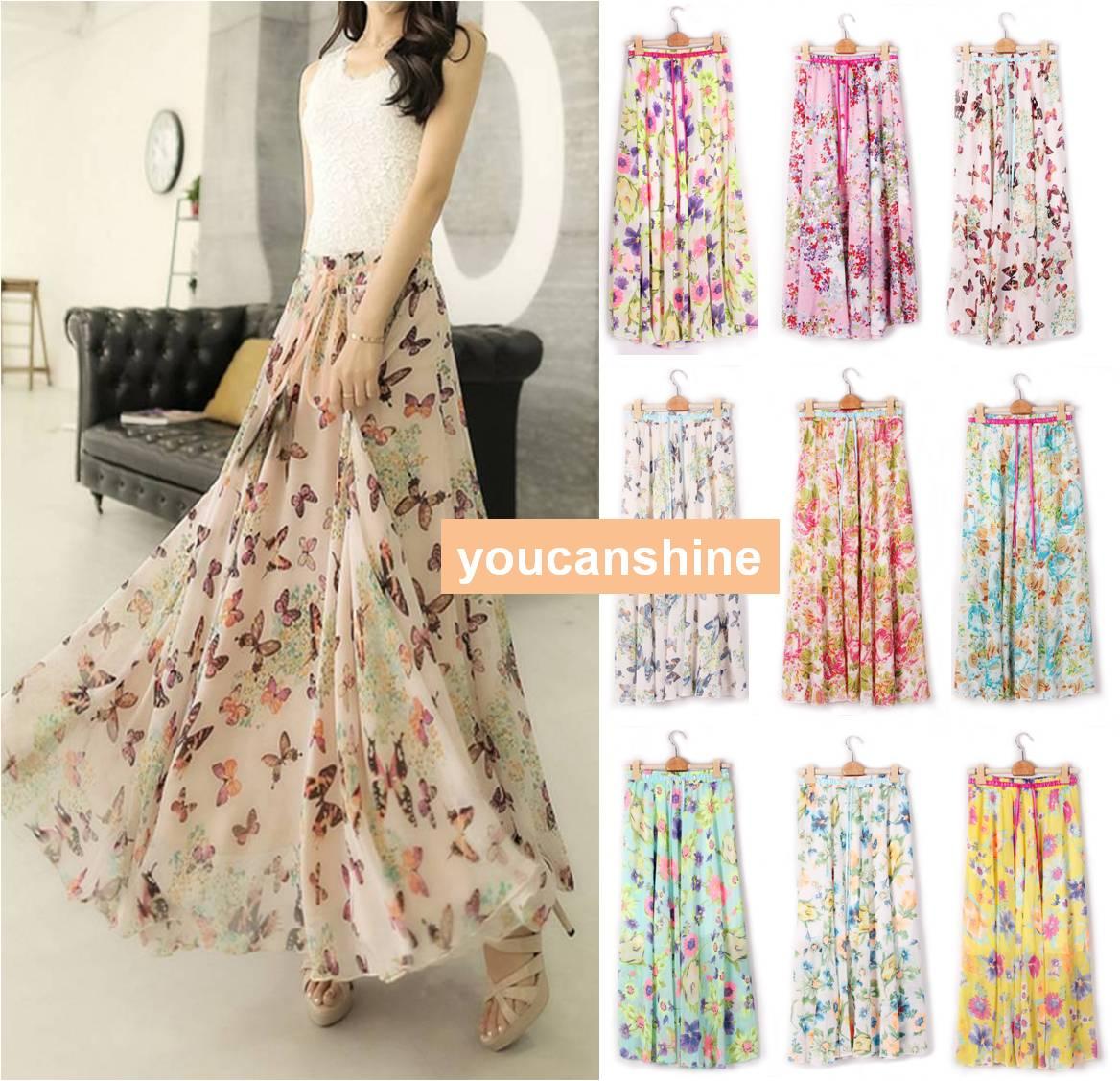 Chiffon Skirt Online