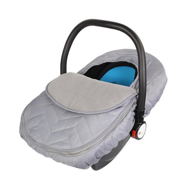 Stroller Accessories Winter Velvet Cover Car Seat Blanket Infant Safety Basket Cart Cradle Windproof Warm Cap