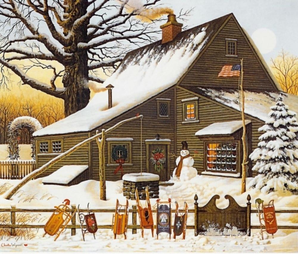 Led Christmas Canvas