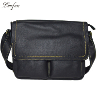 Men's genuine leather laptop shoulder bag genuine leather messenger bag genuine leather school bag for book,big capacityt