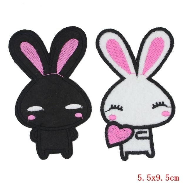 Aliexpress.com: Comprar 2 unids/lote parche conejo en la historieta ...