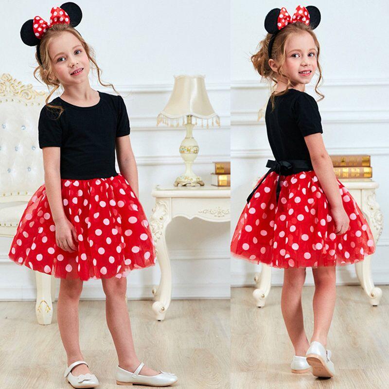 Phantasie Neue Jahr Baby Mädchen Karneval Santa Kleid Für Mädchen Sommer Minnie Maus Urlaub Kinder Kleidung Party Tüll Kinder Kostüm